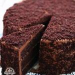 """Шоколадный торт """"Пеле""""."""