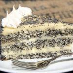 Маковый торт.  Нам потребуется: