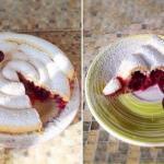 Хитрый пирог с вишней?