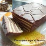 Шоколадный торт без выпечки.