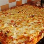 Быстрая пицца.   Быстрая пицца - рецепт для тех, кто любит пиццу, но ленится ее готовить по всем правилам итальянской кухни.
