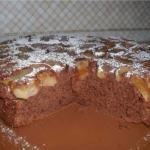 Яблочно - шоколадный кекс в мультиварке!