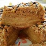 Медовик с заварным кремом - тортик - наслаждение!