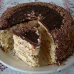 """""""Киевский"""" торт.  Ингредиенты:"""