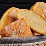 Домашний деревенский хлеб.