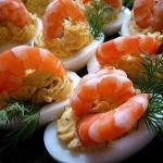 Фаршированные яйца.  25 вариантов для начинки: