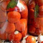 Маринованные помидоры?   Ингредиенты:
