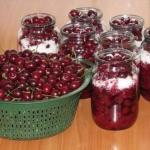 Топ - 10 рецептов консервации из вишни.
