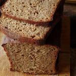 Черный заварной хлеб.