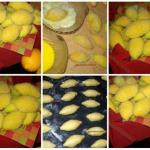 """Печенье """"Лимончики"""".  Ароматное печенье с вкусной начинкой."""