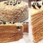 """Медовый торт """"Пчелкин дом""""."""
